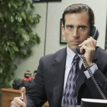 Michael Scott will be played by a woman in a stage production of <em>The Office</em>, so that's <em>literally</em>what she said