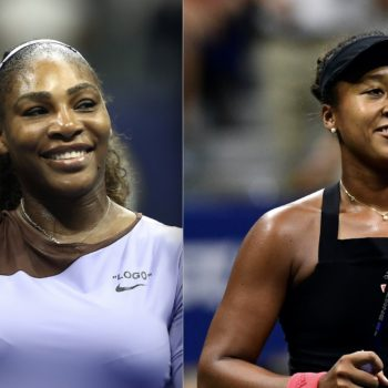 Naomi Osaka has the sweetest words for Serena Williams—even though they're playing each other in the U.S. Open finals