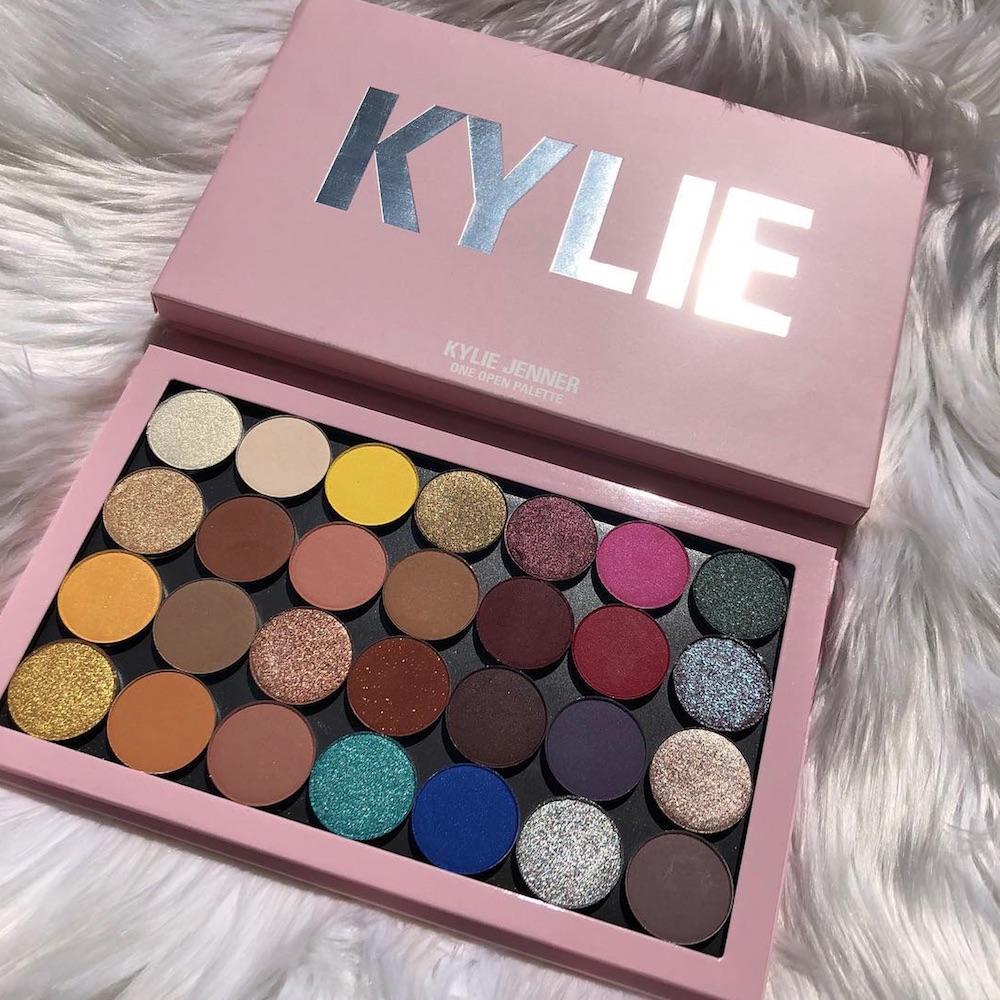 Kylie Cosmetics's new launch lets beauty lovers create a one-of-a-kind palette