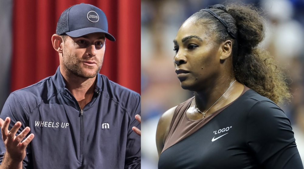 Male tennis stars are admitting they've said way worse than Serena Williams during matches—and never got penalized
