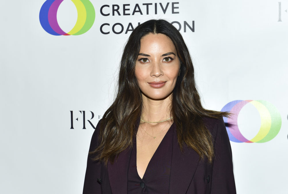 Olivia Munn says she's received little support from fellow cast and crew after coming forward about a convicted sex offender on set