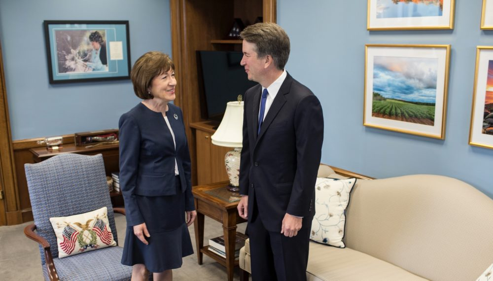 Senator Susan Collins has received 3,000 coat hangers in protest of Brett Kavanaugh—here's why