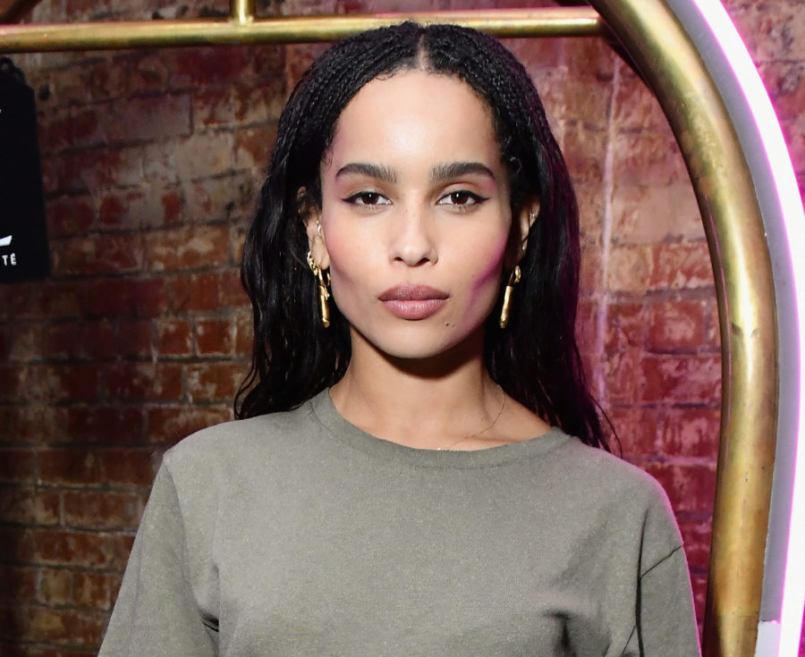 Zoë Kravitz got real about how acne affects her mood, and we've all been there