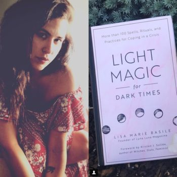 Lisa Marie Basile's <em>Light Magic for Dark Times</em> probably contains the spell you need to heal yourself