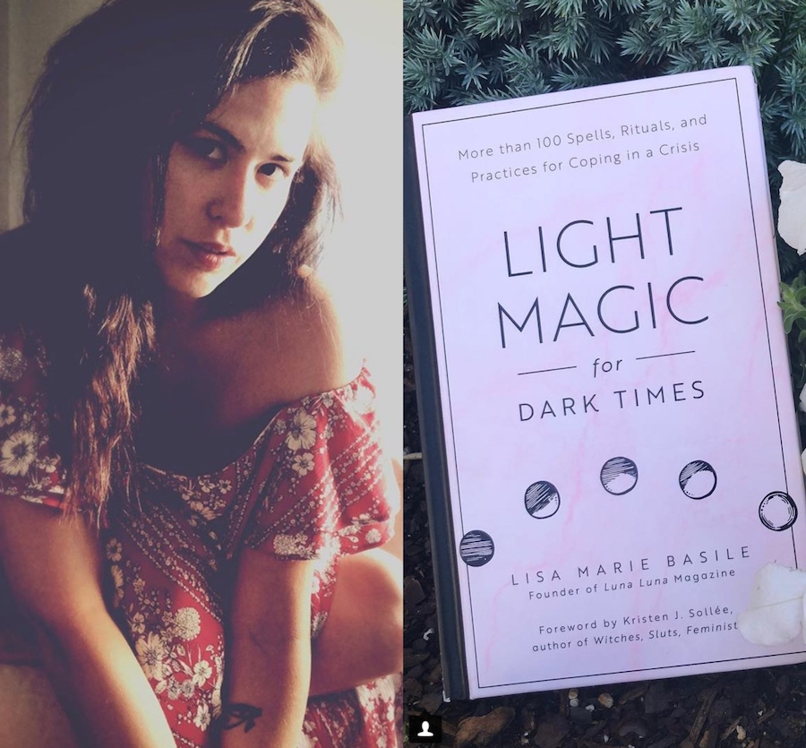 "Lisa Marie Basile's ""Light Magic for Dark Times"" probably contains the spell you need to heal yourself"