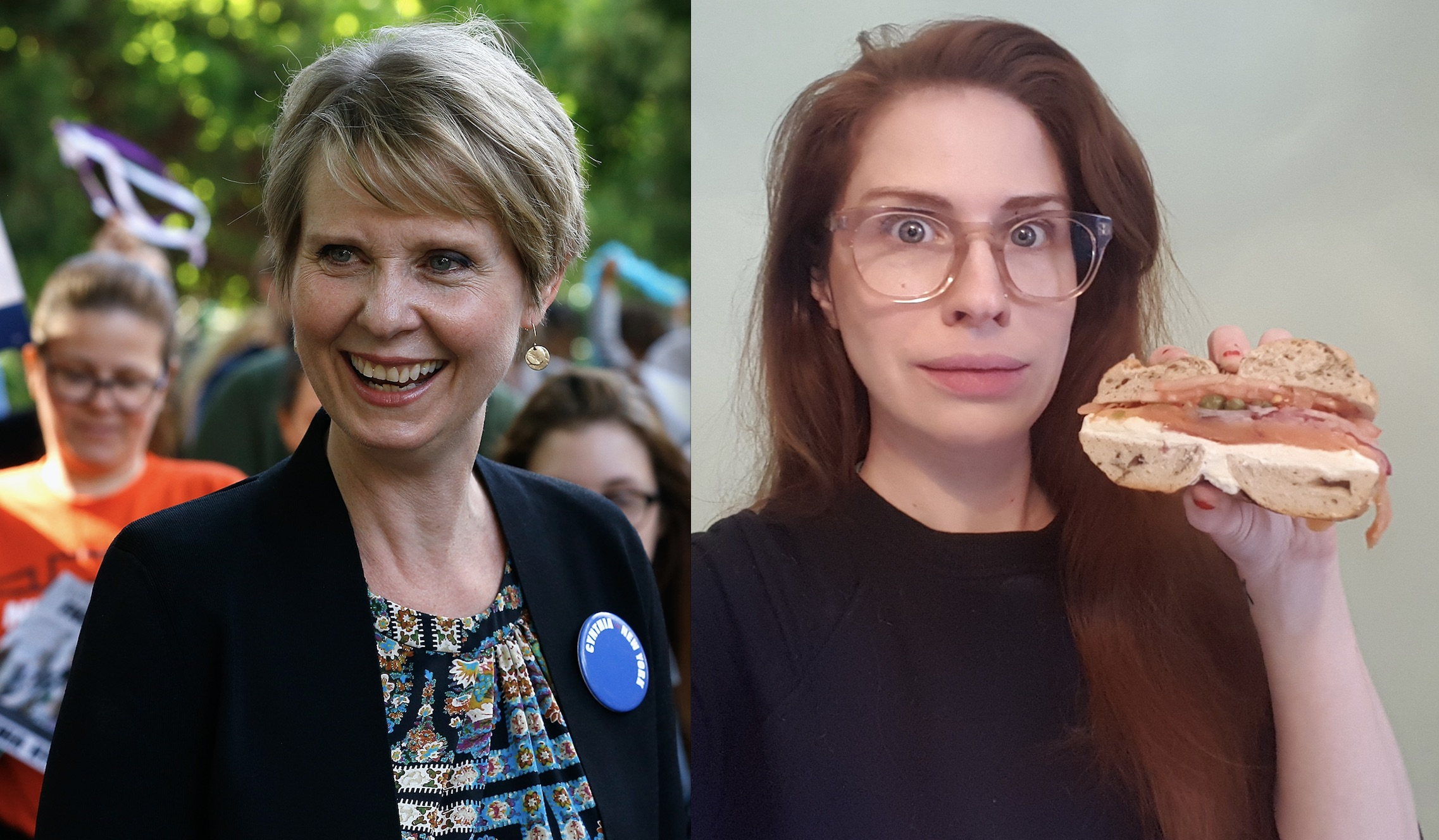 "I tried Cynthia Nixon's ""controversial"" bagel order, and this is what happened"