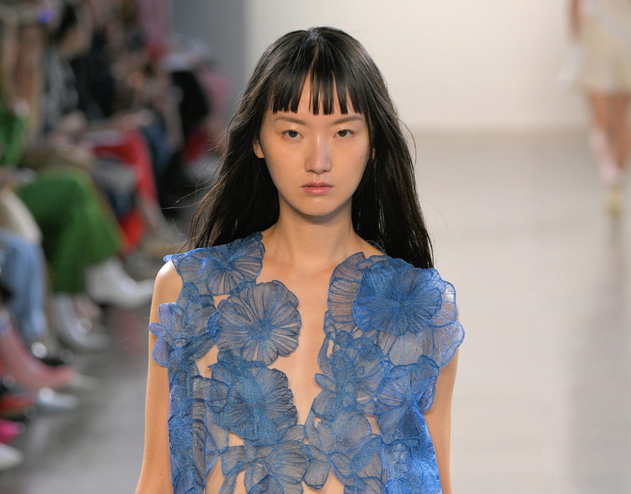 This designer only used Asian models for her first NYFW show to make a critical point about representation