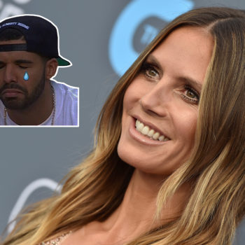 Heidi Klum said Drake once tried to date her but she ignored his texts, and insert crying Drake meme here