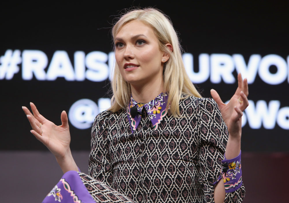 Karlie Kloss opened up about her connection to the Trump family for the first time ever