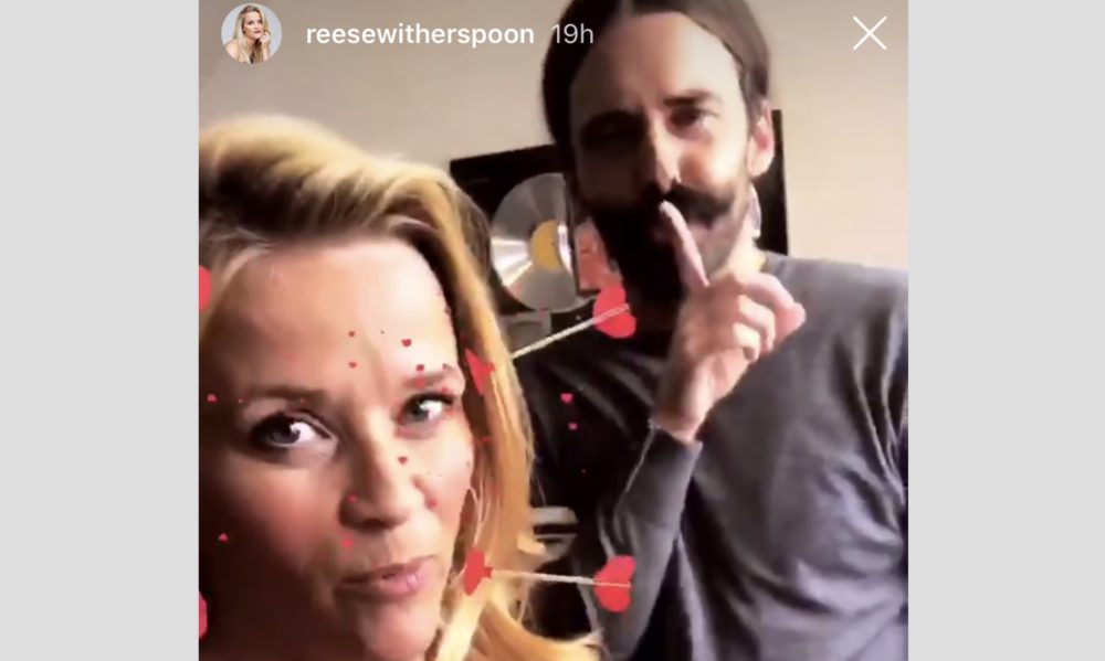 """Reese Witherspoon and Jonathan from """"Queer Eye"""" are working on a secret project, and here's what we know"""