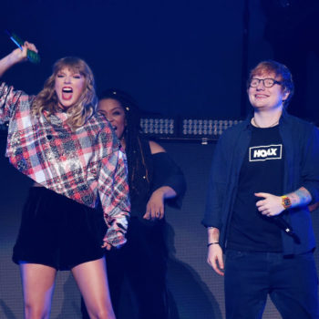 Taylor Swift playfully roasted Ed Sheeran in a new video, and can we get in on this savage best friendship?