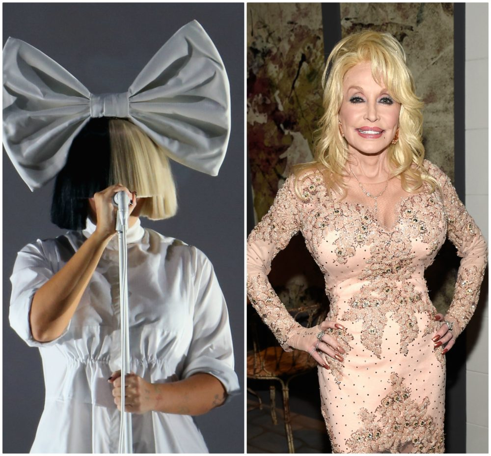 "Dolly Parton and Sia's ""Here I Am"" duet is the feel-good power ballad you need in your life right now"