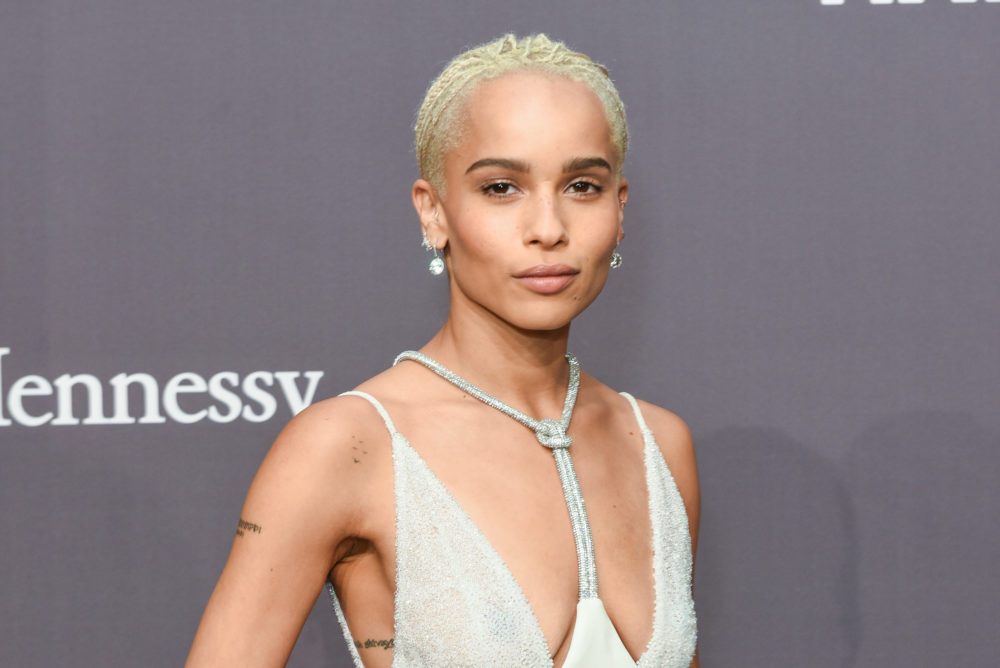 Zoë Kravitz's next role was written for a man, and here's why that matters