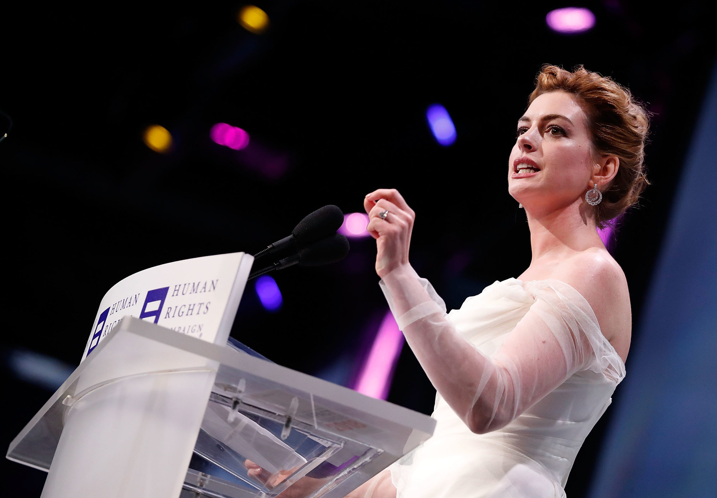 Anne Hathaway called out her white, straight privilege, and this is important