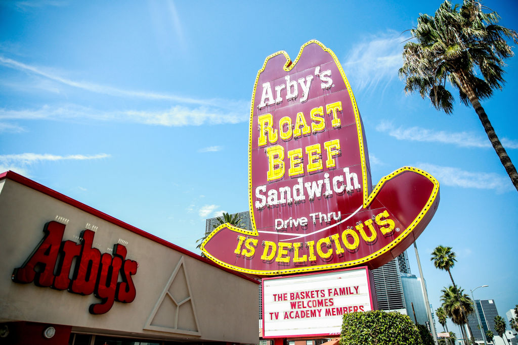 Arby's is giving away free tattoos of its sandwiches—and they're the *permanent* kind, people