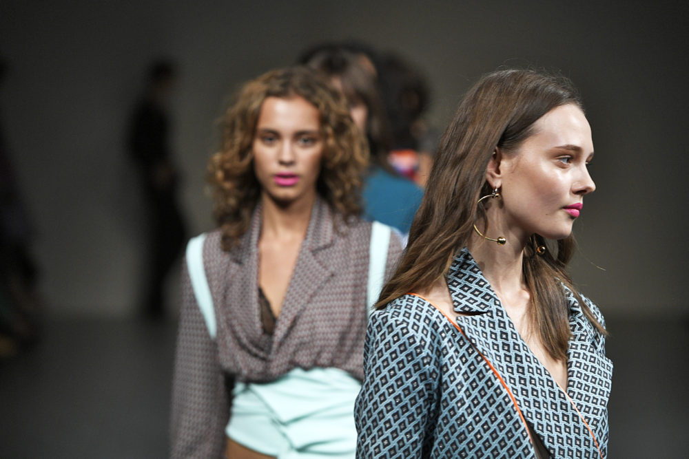 Today in awesome: A model wore a breast pump down the runway at London Fashion Week