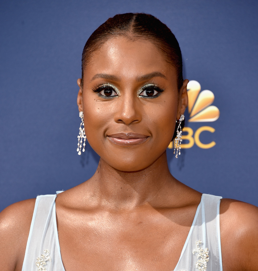 Issa Rae looks like Cinderella in a jumpsuit on the 2018 Emmys red carpet