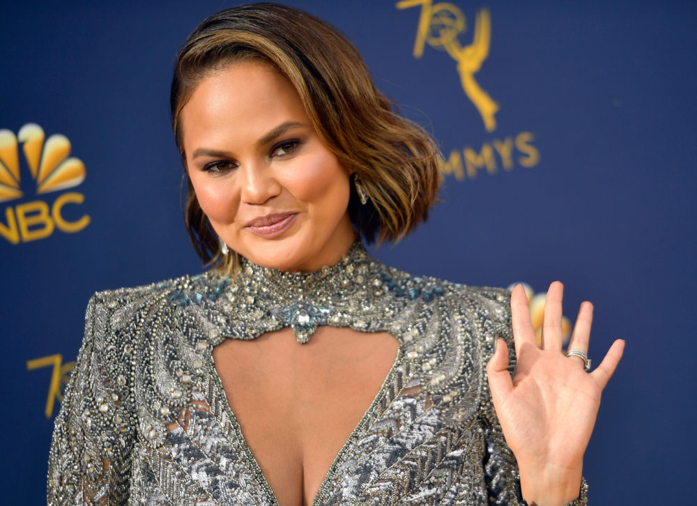 This Chrissy Teigen moment from the 2018 Emmys is already going viral