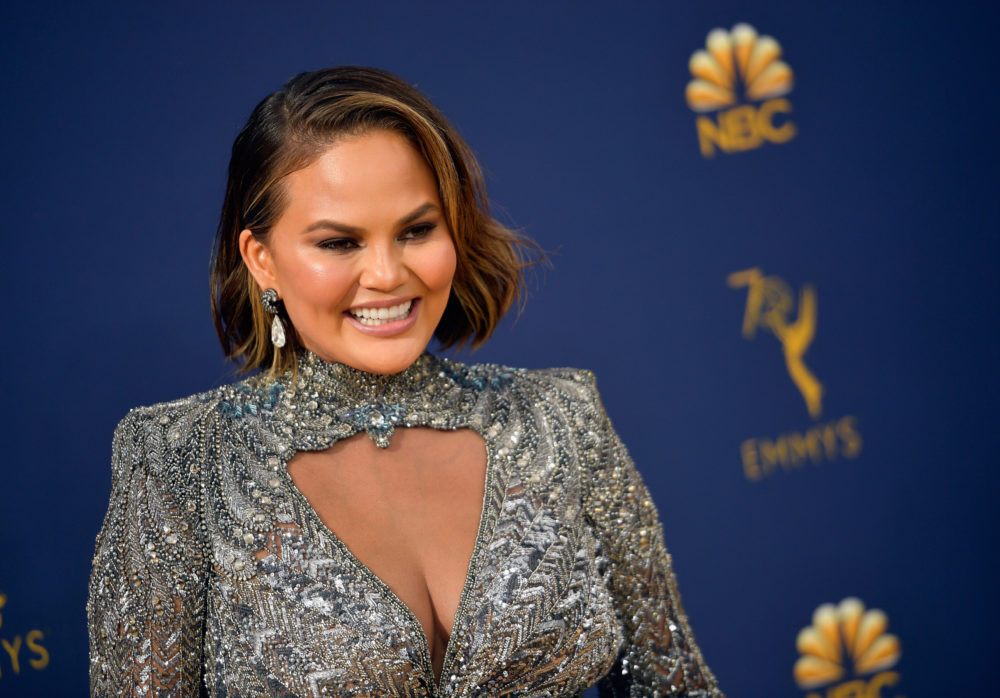 Chrissy Teigen had the perfect clapback to a fan who asked if she was pregnant