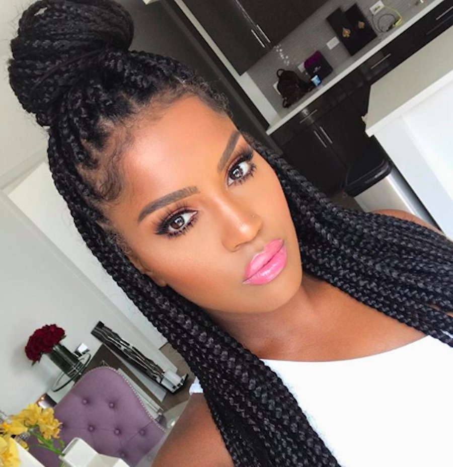 Fashion week Box braids for girls
