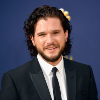 You probably missed Kit Harington give Rose Leslie the most heartfelt shoutout at the Emmys