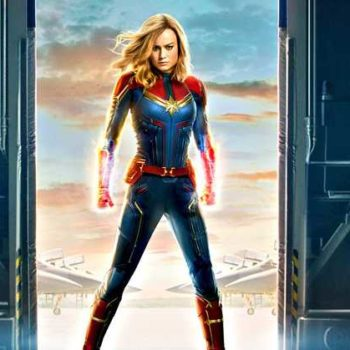 You probably didn't notice this hidden clue in the new <em>Captain Marvel</em> poster
