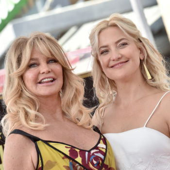 Goldie Hawn compared pregnant Kate Hudson's vagina to a huge flower, and honestly, she's not wrong