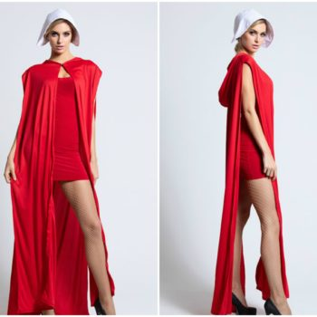 "This ""sexy"" <em>Handmaid's Tale</em> outfit is the first (but probably not the last) problematic costume of Halloween 2018"
