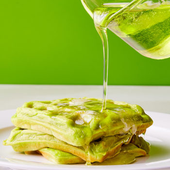 It's now acceptable to have soda for breakfast, thanks to this Mountain Dew waffles recipe