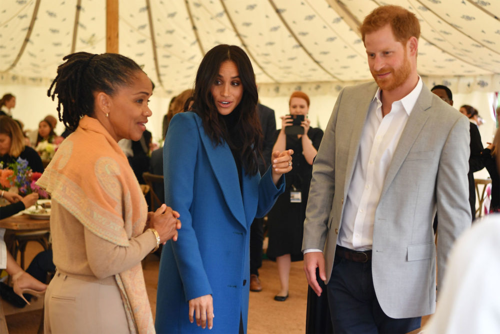 Prince Harry got caught sneaking samosas at Meghan Markle's cookbook event
