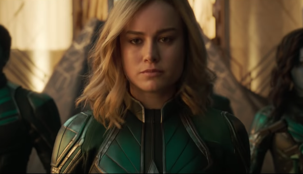 "Brie Larson was told Captain Marvel should ""smile more,"" so she posted photoshopped pics of male superheroes smiling"