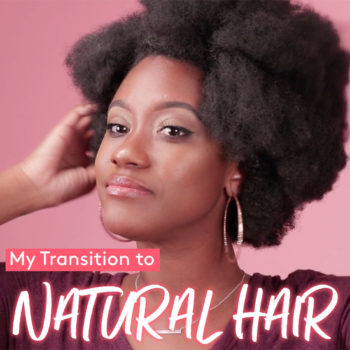 My transition to natural hair