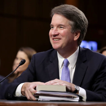 "Brett Kavanaugh was a member of an all-male society in college referred to as ""Tit and Clit"" whose recruits would chant ""no means yes"""