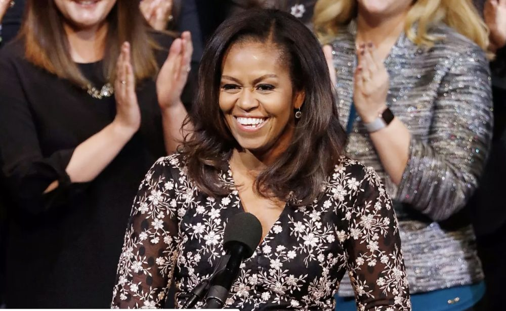 Michelle Obama just officiated a Chicago couple's wedding ceremony