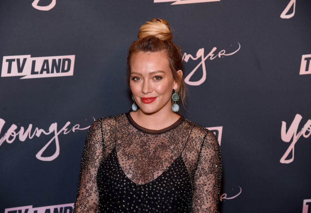 Pregnant Hilary Duff confronted a paparazzo who'd been following her all day, and documented the whole thing on video