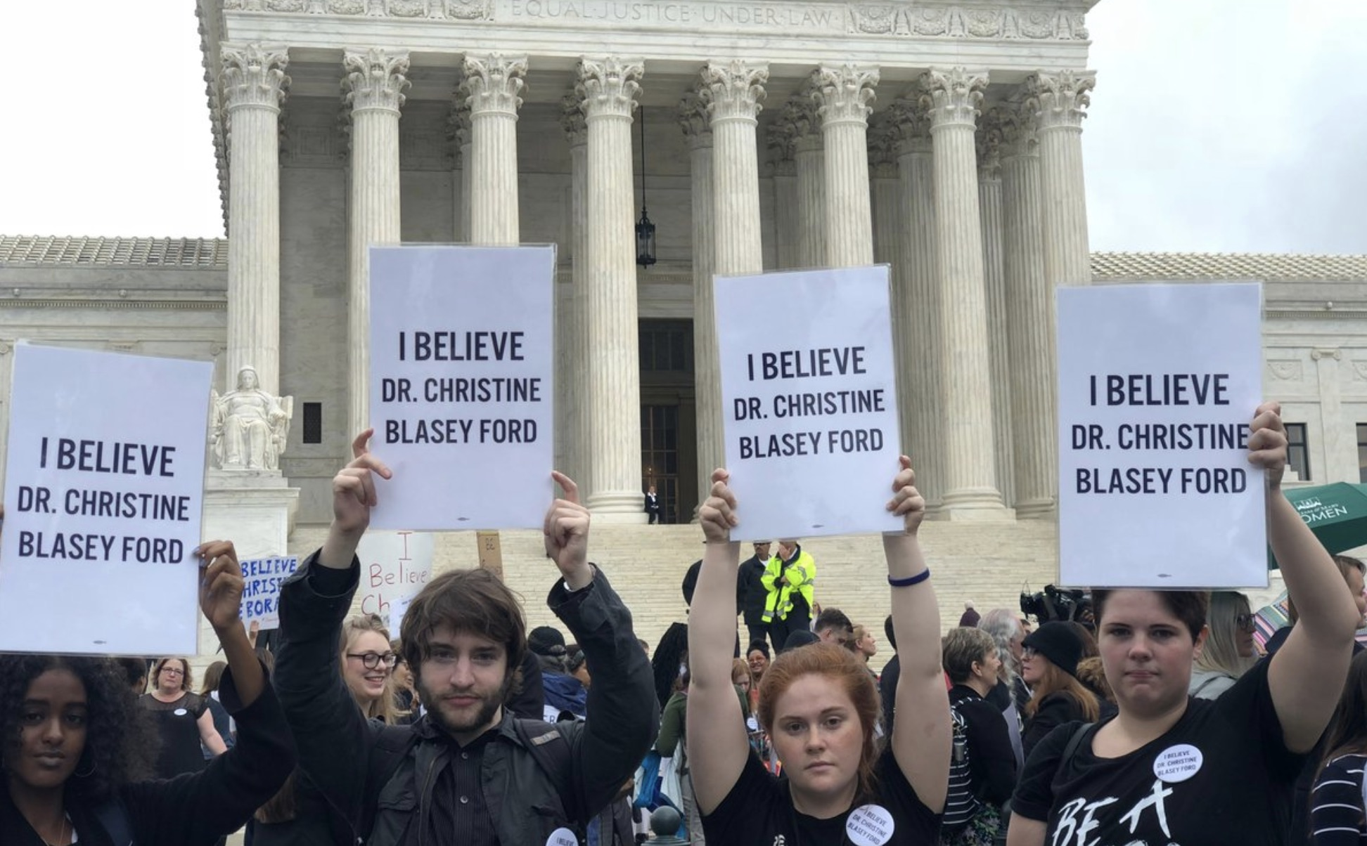 The most powerful tweets and images from today's national walkout to protest Brett Kavanaugh