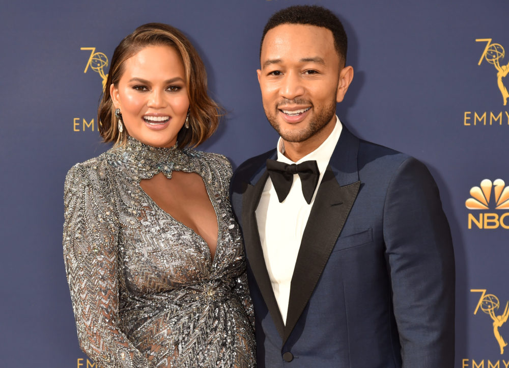 "Chrissy Teigen says she and John Legend ""closed the deal"" the first night they met"