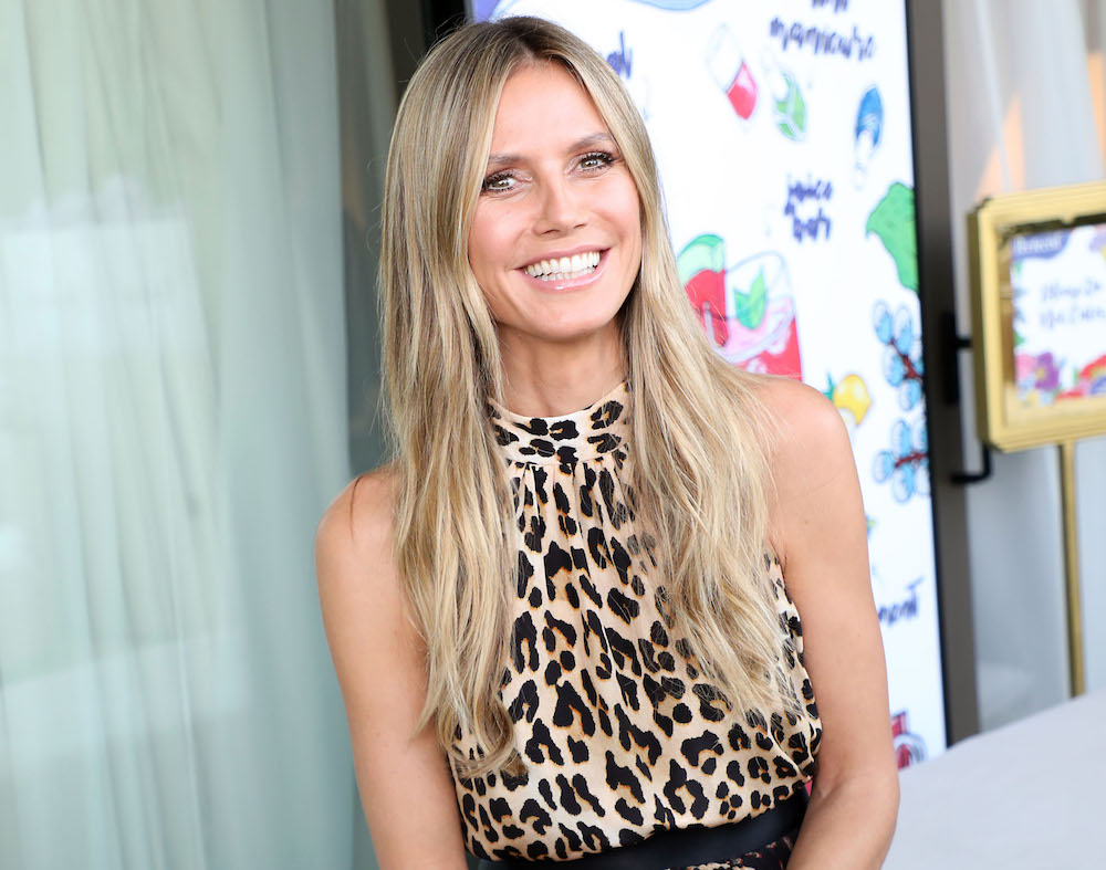 Heidi Klum Hair Styles: Heidi Klum Shares Random Skin Care Product Secret