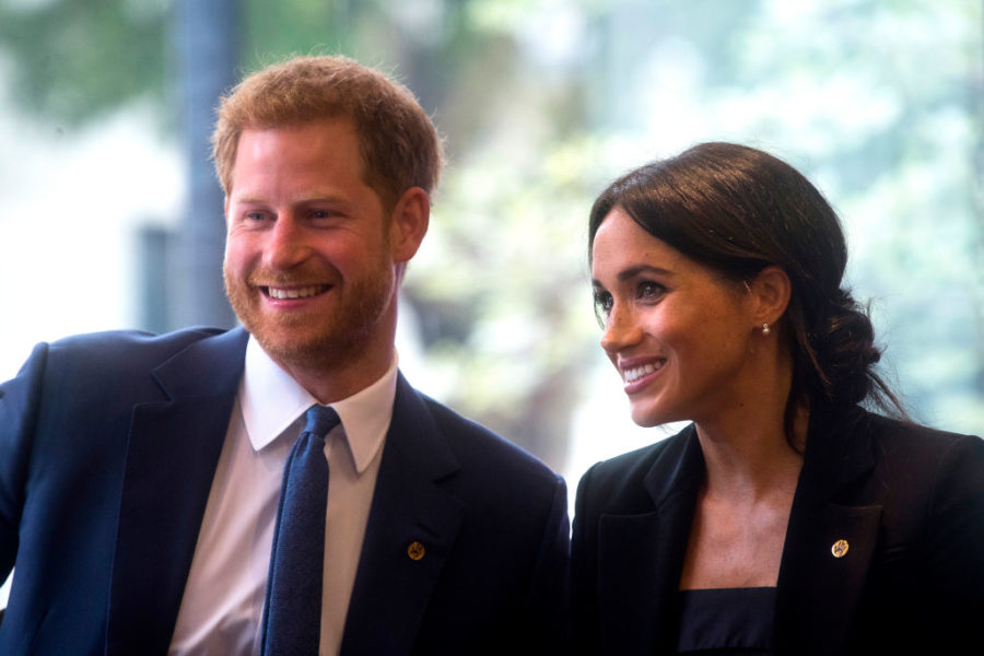 Meghan Markle and Prince Harry are making their first official visit to their namesake