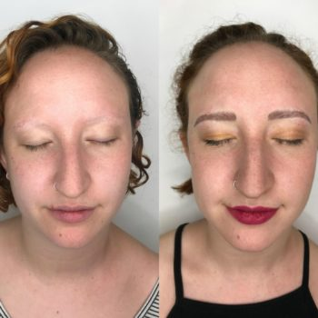 I have trichotillomania, and microblading my brows changed my life