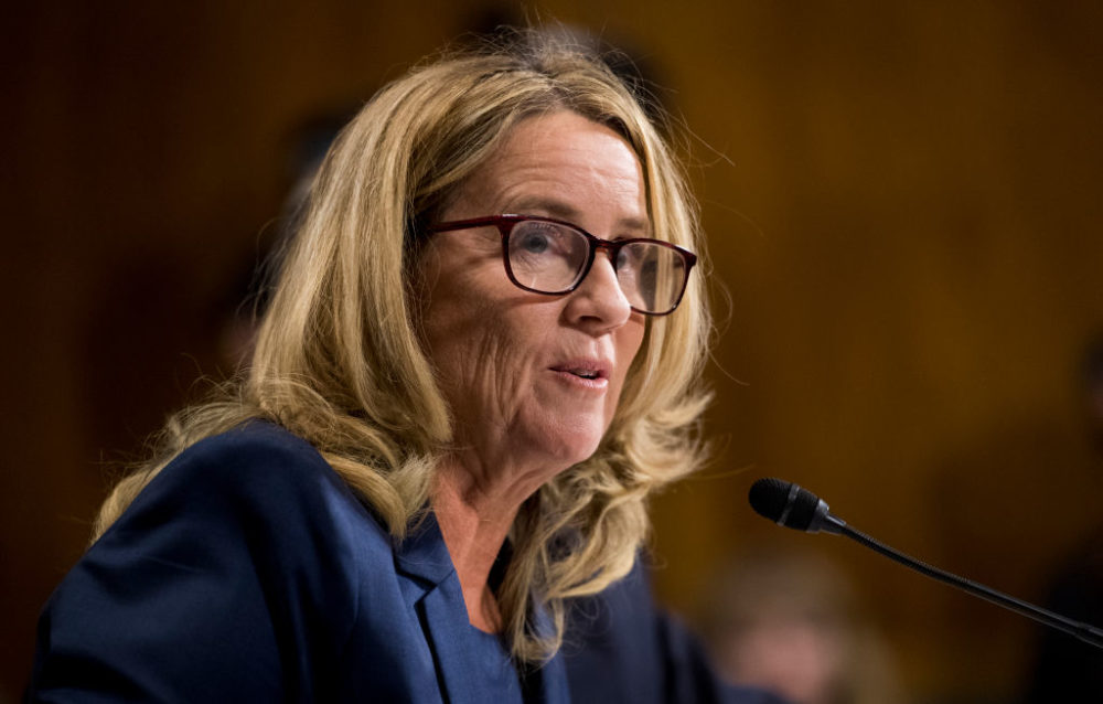 The National Sexual Assault Hotline spiked 147% during Christine Blasey Ford's hearing