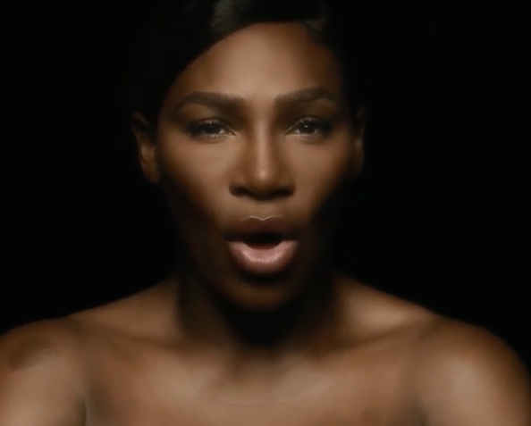 Serena Williams went topless and covered <em>I Touch Myself</em> for Breast Cancer Awareness Month