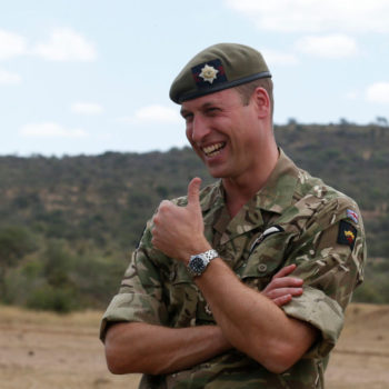 Prince William broke royal protocol in Kenya for the sweetest reason—and yes, there's a picture