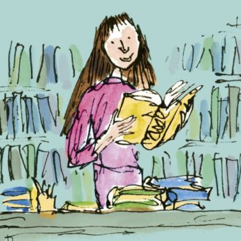 The illustrator who drew <em>Matilda</em> reimagined her at age 30, and she now has quite the resume