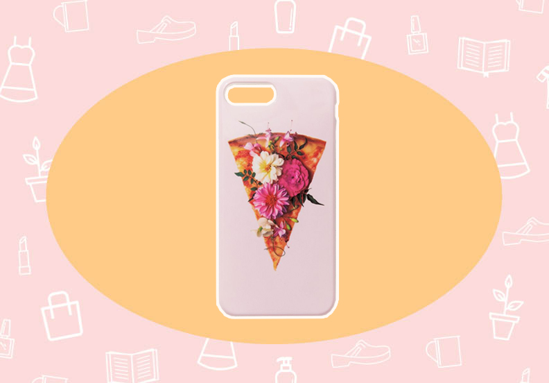 WANT/NEED: A flower pizza cell phone case that speaks to me on many levels, and more stuff you want to buy