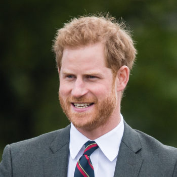 Prince Harry saw an ex out in public, handled it like all of us