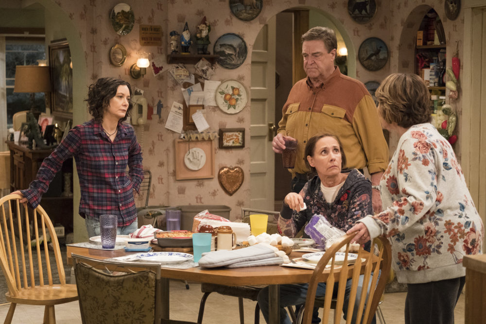 <em>The Conners</em> cast spoke out about Roseanne Barr's racist tweet for the first time