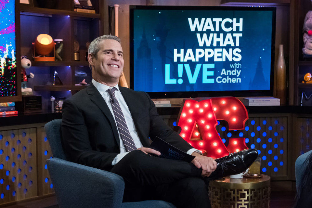Andy Cohen helped a Bravo fan propose to his boyfriend on <em>Watch What Happens Live</em>