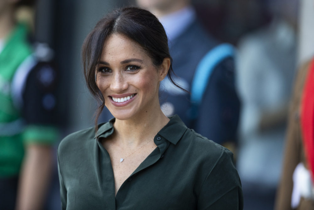 Meghan Markle Rocked A Green Monochromatic Look Hellogiggles