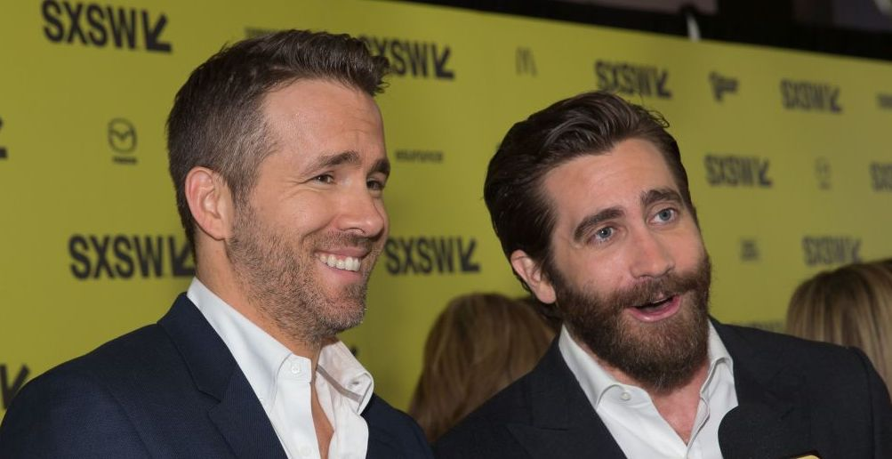 Find someone who writes lovely essays about you like Jake Gyllenhaal just did for Ryan Reynolds